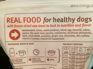 Reads like a really healthy grocery list. You don't eat this well, do you?
